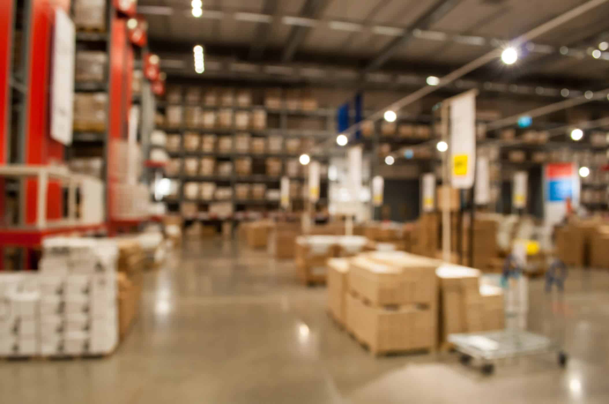 A Workplace warehouse